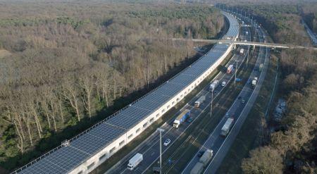 Tunnel solare da 3 Mwh - Solar Tunnel